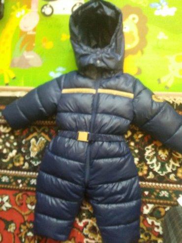 фирменний зимний комбенизон FENDI рахмер xl примерно 1-1,5. мех снимае в Бишкек