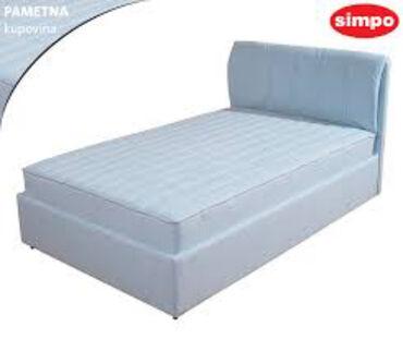 Kreveti polovni Zemun. Kauc sivi razvlaci se 4500 din i samac krevet
