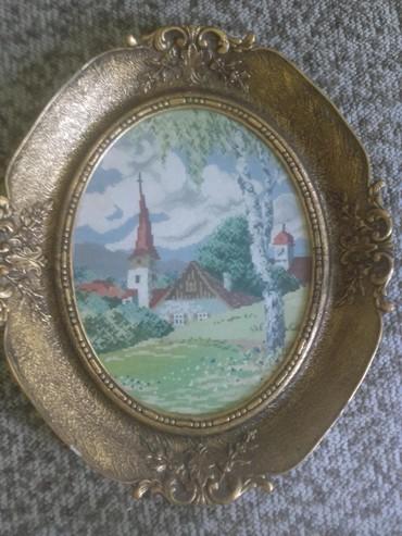 Gobleni - Beograd: PROLEĆE Vilerov goblen original uramljen original konci i bod  iz kole