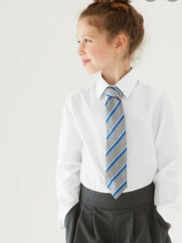 Детский мир - Кок-Джар: Блузка для девочки 140см. Фирмы M&S school. Из за онлайн обучения