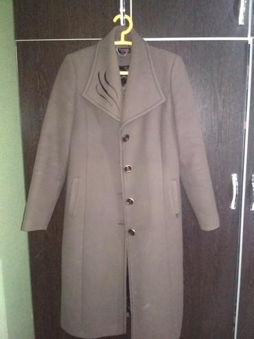 Пальто - Кок-Ой: Продаю пальто демисезонное б/у, в отличном состоянии, размер 48-50