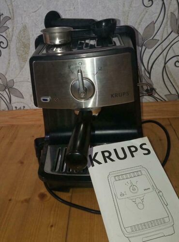 kofe aparati - Azərbaycan: Krups firmasının kofe aparati 1100 manata alinib karopkası atıldığı