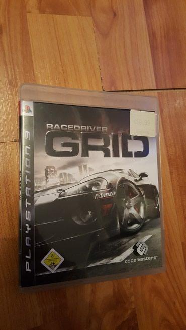Knjige, časopisi, CD i DVD | Leskovac: Racedriver grid igrica za sony playstation 3 original