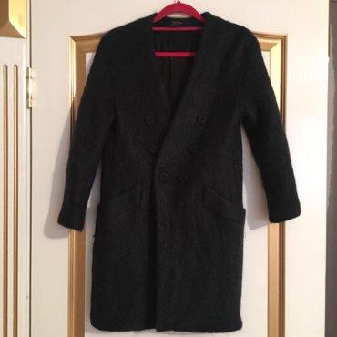 Bakı şəhərində Zara firmasından palto, ölçü xs, moxer ve yun terkibli, 275 azn