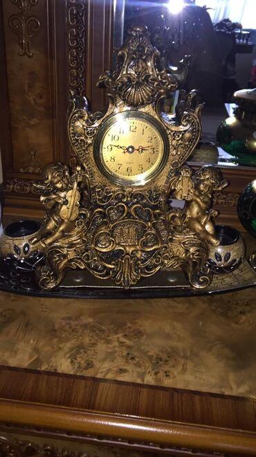 Əntiq saatlar - Azərbaycan: Dekor saat 80 azn.Taylanddan alınıb Nərimanov