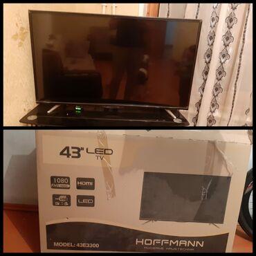 smart tv - Azərbaycan: Hoffman televizor satilir. Qiymeti 400 azn. 109 ekrandir. Smart deyil