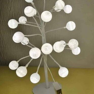 Stona lampa - Zajecar: Savršena dekoracija za predstojeće praznike. Svetleće bonsai