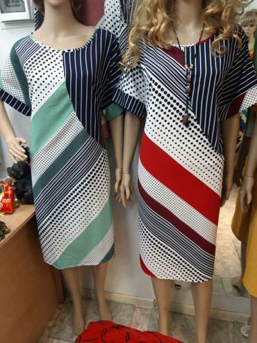 пляжное платье больших размеров в Кыргызстан: Легкие платье больших размеров от 54 по 64 по 600 сом