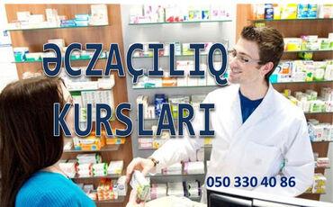 axtarışı - Azərbaycan: Peşəkar Əczaciliq Farmakalogiya kursları Əczaçılıq kursları Dərs proqr