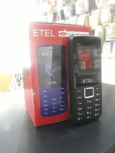 телефон флай кнопочный на 2 симки в Азербайджан: Etel 2 nomre yeni duos