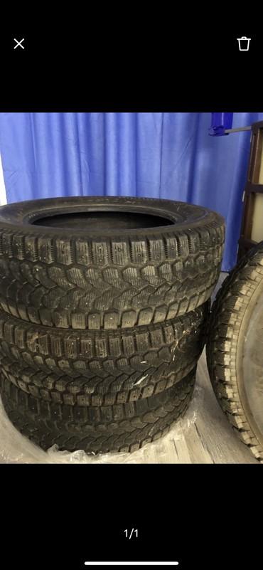 225 65 17 зимние шины в Кыргызстан: Авто шины r 17 225/65 зимние шипованные, в комплекте. Yokohoma