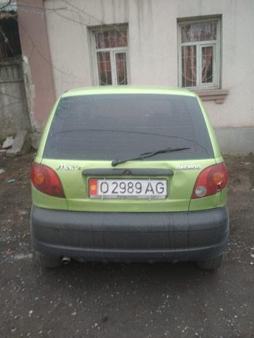 Продаю машины марки Матиз в Ош