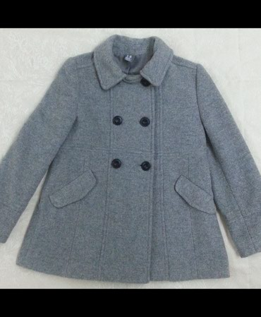 Bakı şəhərində Драповое пальто для девочки 7-8 лет.