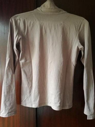 Pamucna bluza lepa boja peska,vel:M - Beograd - slika 4