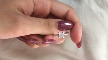 Серебряное кольцо 16 размер Цена:299 Состояние идеальное в Бишкек