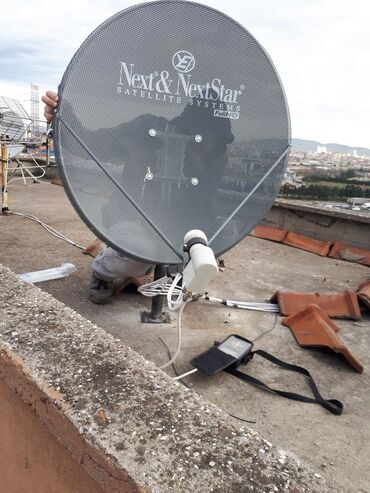 183 elan | PEYK ANTENALARININ QURAŞDIRILMASI: Peyk antenalarinin qurasdirilmasi krosna kanallarin yigilmasi