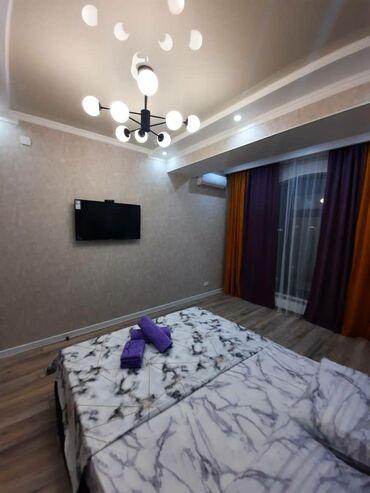 суточный 1 комнатная квартира в караколе in Кыргызстан | ПРОДАЖА КВАРТИР: 1 комната, Душевая кабина, Постельное белье, Кондиционер, Без животных