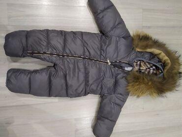 shorty burberry в Кыргызстан: Продается зимний комбинезон на 6-9мес Burberry,цена 2000сом