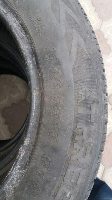 шина 205 65 r15 в Кыргызстан: Поменяю на 205/65 r15 такая же летняя