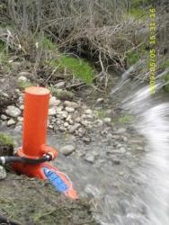 Гидротаран Полив. Подъём воды. Насос работает без электричества и ГСМ
