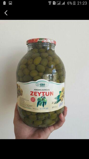 h2h elanlar - Azərbaycan: Yaşil zeytun evde hazrlanmir.zavod malidi. Catrlma var pulsuzDiger
