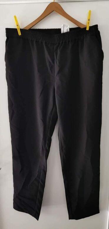 Elegantne pantalone - Srbija: NOVE FAIR LADY NEMAČKE 2XL 700din CRNE ELEGANTNE NA GUMU IMAJU DŽEPOVE