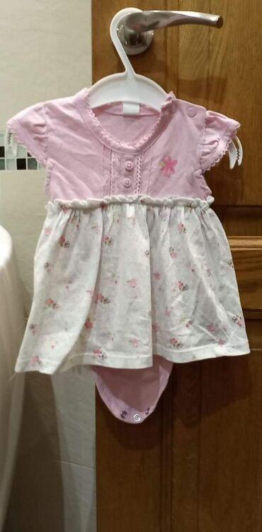 Haljinice za devojčice u veličinama 50-68.Cena na komad 300 din.Na