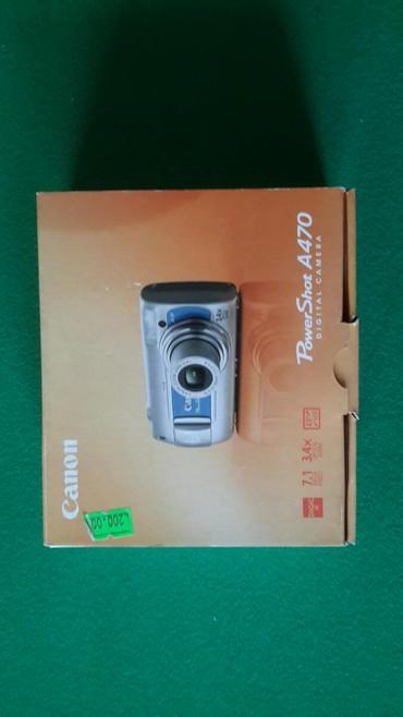 фотоаппарат 16 мегапикселей в Азербайджан: Фотоаппарат Canon PowerShot A470. Использовали несколько раз