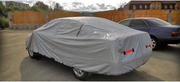 Защитный чехол-тент на автомобиль AVS изготовлен из полиэстера, не