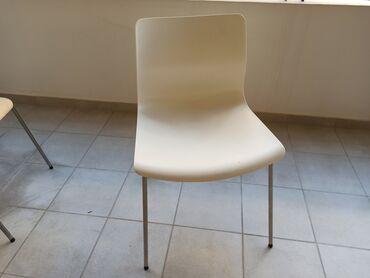 Σπίτι & Κήπος - Ελλαδα: 4 καρέκλες πολύ καλής ποιότητας ΙΚΕΑ σε άριστη κατάσταση. Χρώμα/υλικό