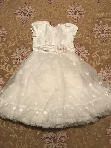 Срочно со скидкой Нарядное и дорогое платье на девочку 5-7 лет  Очень