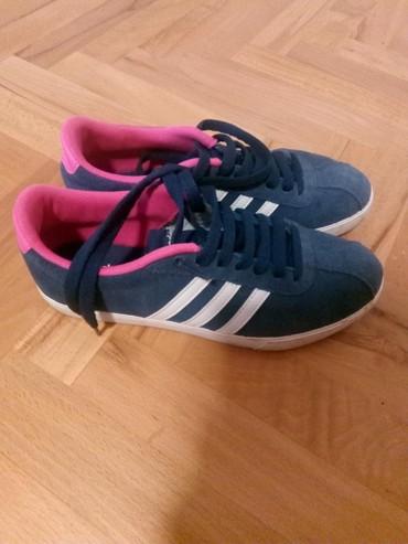 Patike Adidas iz Planete 38 neoštećene,  ,teget - Nis
