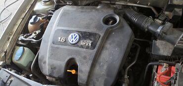 Декоративная защитная крышка на двигатель vw golf 4 1.6л