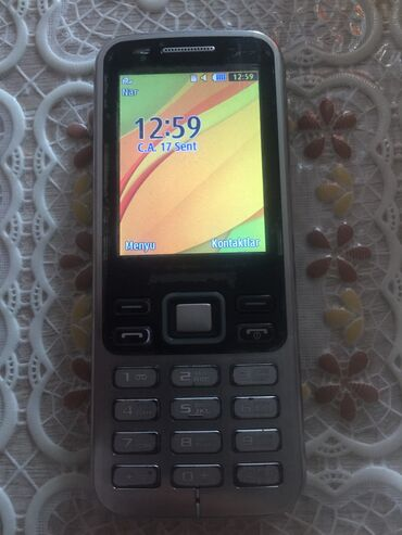 Samsung - Saray: İşlənmiş Samsung C3222 1 GB boz