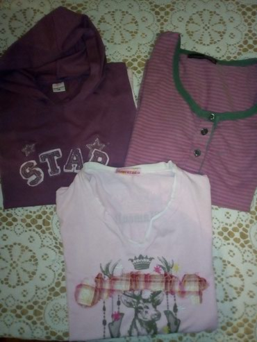 I tri majice - Srbija: Tri majice ocuvane velicina 14.Sve za 300 din
