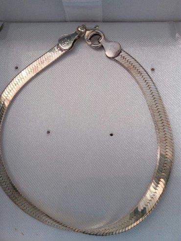 Bakı şəhərində браслеты из Италии 925 серебро не чернеет