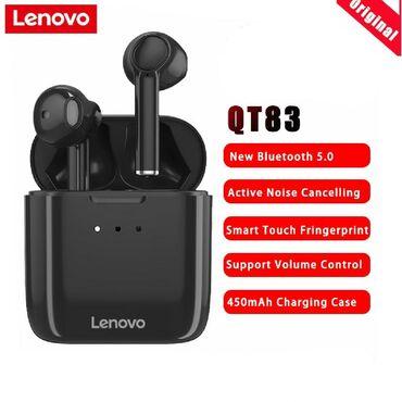 Original Lenovo qt83 tws model ikili sport bluetooth qulaqliqSensor