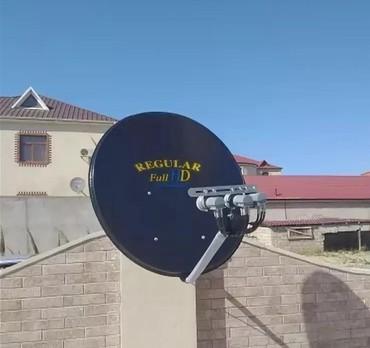 peyk antenalari - Azərbaycan: Peyk antenaların quraşdırılması