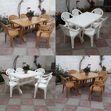 Plastic masa ve oturacaq destleri satiliryenidirBayildadirrengleri