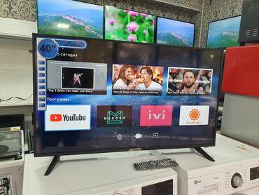 Телевизоры Ясин Вай фай ютуб Интернет 40 дюм 102 см диагональ Гарантия