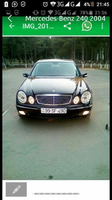 - Azərbaycan: Mercedes-Benz E 240 2.6 l. 2004   288000 km