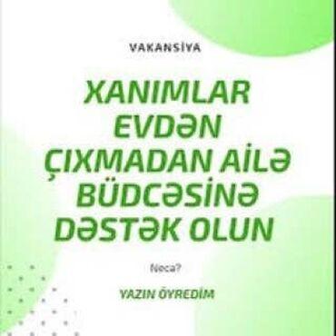 Satış üzrə menecerlər. 1-2 illik təcrübə. Natamam iş günü
