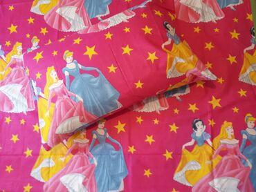 Posteljina - Srbija: Decije pamucne posteljine komplet sadrzi jednu jastucnicu 50x70