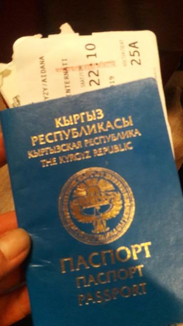 Ищу работу за границу в Бишкек