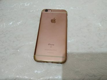 Iphone 6s, 64gb, gold rose, состояние 9 из 10, по в Кара-Балта