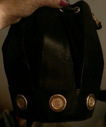 Kožna tašna vrlo kvalitetna i elegantna crna za sve prilike - Beograd