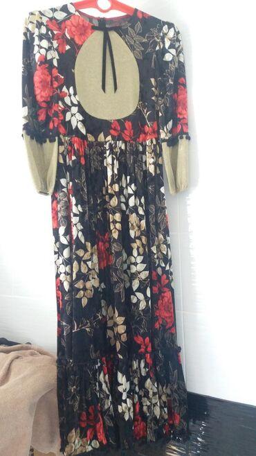 бу вечернее платье размер 46 в Кыргызстан: Шикарное платье, сшито на заказ, размер 46-48, для девушек с ростом