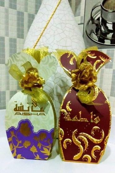 Bakı şəhərində Satilir etriyyat Aisha,Fatima 50ml dubay arjinal iyi qalici duxulardi