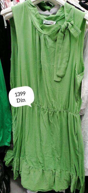 Posao u italiji - Srbija: Italijanska pamučna haljina Veličina univerzalnaCena 1400 din.Slanje