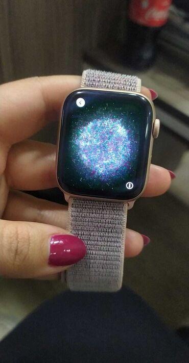 Krem rəngi Uniseks Qol saatları Apple
